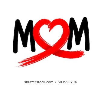 mom-letters-abstract-heart-ribbon-260nw-583550794